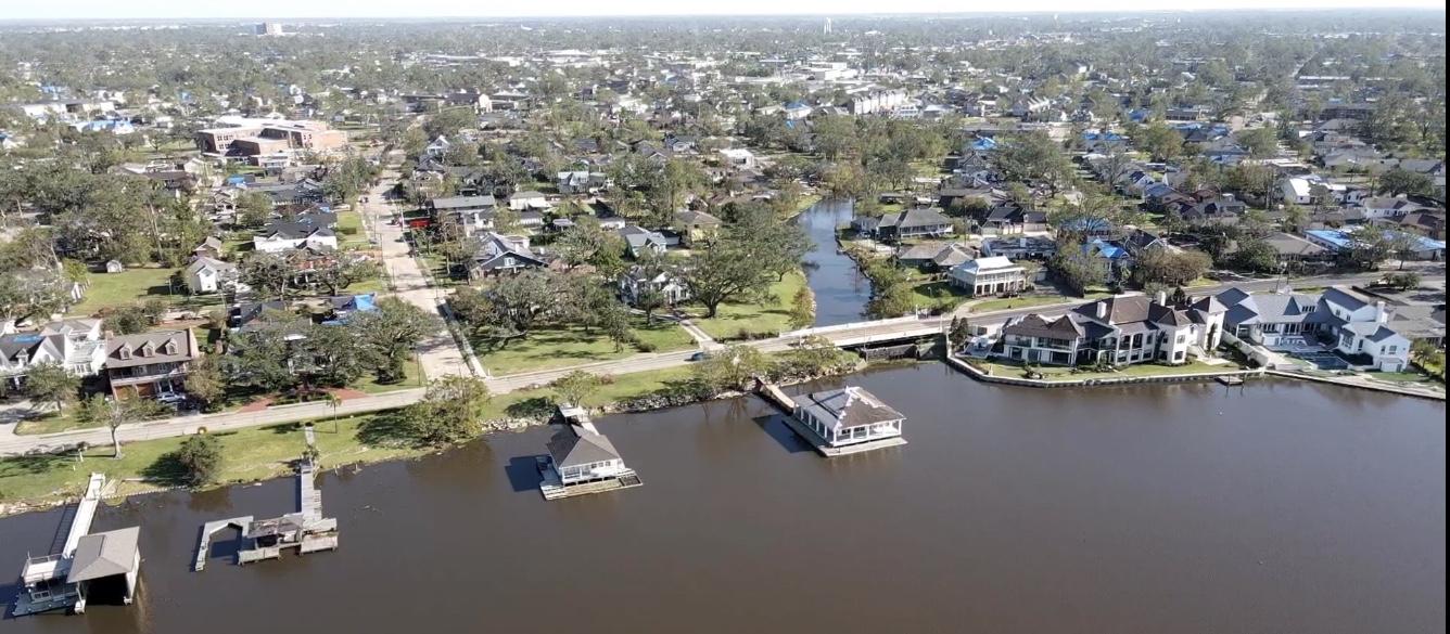 Lake Charles, Louisiana Hurricane Damage